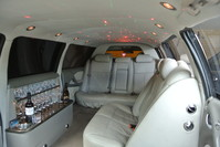 Holden Statesman stretch Limousine Pt 595 inside