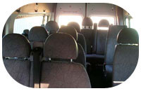 Ford Transit Minibus Tc 5637 inside